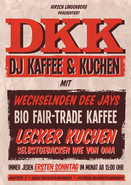 DJ Kaffee & Kuchen im Hirsch