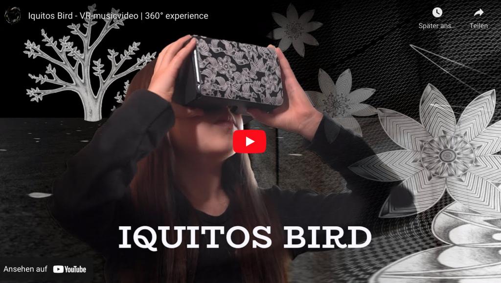 Screenshot aus Youtube Player. Man sieht ein Mädchen mit einer Virtual Reality Brille.